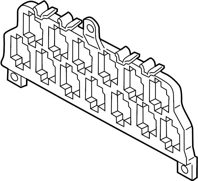 volkswagen beetle relay  fuse  bracket  and  mount