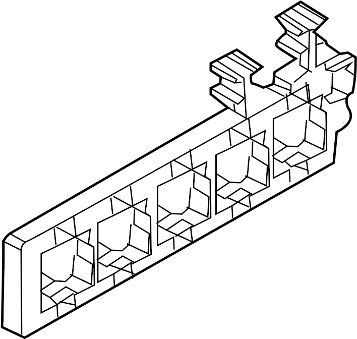 Volkswagen Cc Relay Box  Passenger  Compartment  Upper