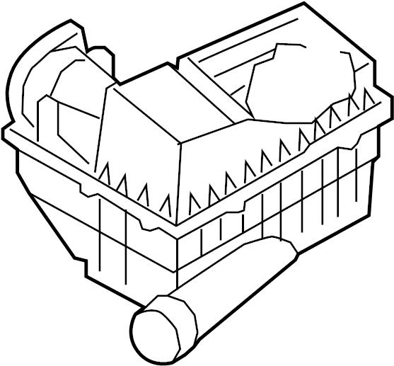 Volkswagen Jetta Air Filter And Housing Assembly  Liter