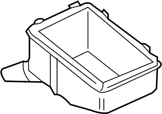 Volkswagen Jetta Gli Box  Grommet  Relay  Bracket  Engine